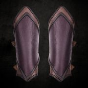 Pointed Leather Bracers
